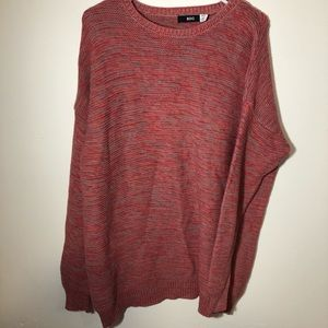 Urban outfitters BDG oversized sweater pink/red